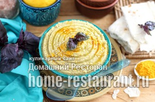 хумус из чечевицы фото