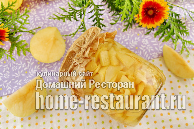 Заготовка из яблок для пирогов фото_8