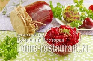 салат из свеклы с луком 9