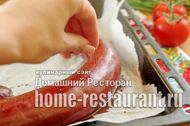 Кровяная колбаса в домашних условиях фото_06