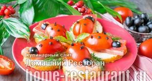 - Бутерброды с красной рыбой «Божьи коровки» фото_8